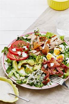 keto cobb salad with ranch dressing recipe diet doctor