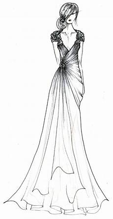 black label wedding gowns by barge a sketched