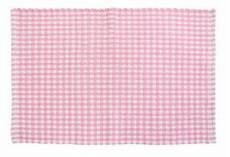 homescapes 100 cotton gingham check rug woven pink