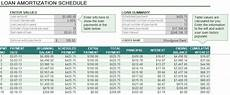 Loan Repayment Schedule Calculator Excel Auto Loan Amortization Schedule Excel Free Download With