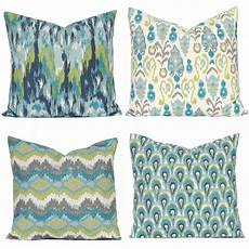 turquoise pillows covers teal pillow covers sofa pillows