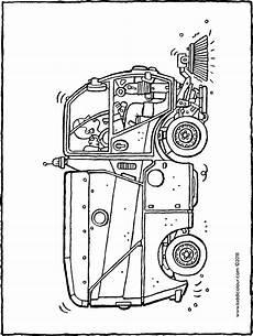 Malvorlagen Free Kehrmaschine Kiddimalseite