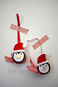 Penguin Tea Light Light Up Penguin Tea Light Ornaments Christmas Crafts