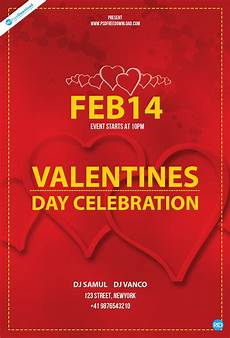 Free Flyer Templates To Download Free Valentines Day Flyer Template Psd Free Download