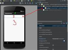 Android Main Activity Design Java Why Does Android Studio Always Show Actionbar In