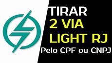 Conta De Luz Light Rio De Janeiro Light 2 Via De Conta Rj Como Emitir R 225 Pido A 2 Via Da