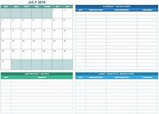 Marketing Spreadsheet Template 9 Free Marketing Calendar Templates For Excel Smartsheet