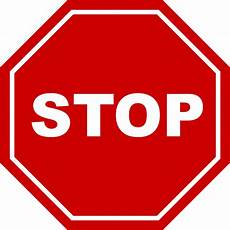 stop bord learn 183 free vector graphic on pixabay