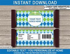 Free Candy Wrapper Template Golf Hershey Candy Bar Wrappers Personalized Candy Bars