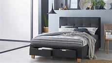 halo bed frame with storage charcoal