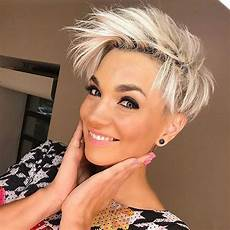 kurzhaarfrisuren 2019 frech blond 20 edgy pixie haircuts haircut