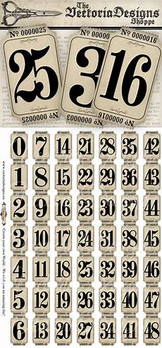 Template For Tickets With Numbers Vintage Tickets Strips With Numbers Vintage Hobby Crafting