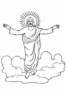 Ausmalbilder Ostern Christlich Jesus Auferstehung Ausmalbilder Auferstehung
