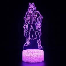 Fortnite Night Light Fortnite Drift 3d Illusion Lamp Fortnite Decor Night