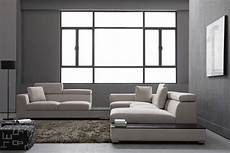 Modular Sectional Sofa For Living Room 3d Image by Vig Divani Casa Forte Gray Microfiber Modular Living Room