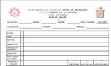 Formato Para Planear Una Clase Formato Para Planeaci 243 N Escolar Semanal Ciencia Y