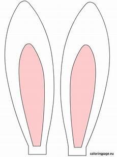 Malvorlagen Hasenohren Kostenlos Bedruckbare Hasenohren Basteln Ideen Ostern