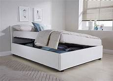side lift ottoman storage three quarter 3 4 bed frame in
