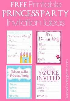 Princess Party Invitations Printable Free Free Printable Princess Party Invitations Seriously