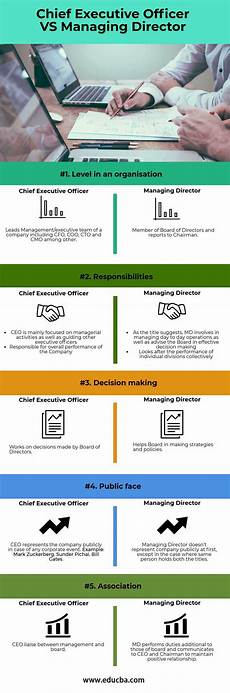 Deputy Ceo Roles And Responsibilities Chief Executive Officer Vs Managing Director Top 5