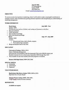 Resume Example Australia Cv Template Free Professional Resume Templates Word