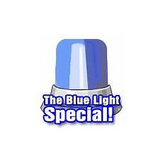 Blue Light Special Offerer Crazy Couponer Remember The Blue Light Special