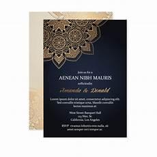 Corporate Invitation Card Format Luxury Wedding Invitation Card Template Free Vector