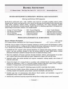 Regional Manager Resume Examples Business Development And Regional Sales Manager Resume