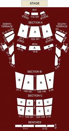 Greek Theater Chart Greek Theater Los Angeles Ca Seating Chart Amp Stage