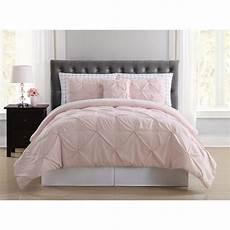 truly soft arrow pleated blush xl bed in a bag