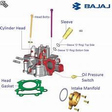 Light Cylinder Pulsar Bajaj Pulsar Rs200 Dtsi Cylinder Head