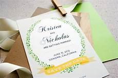 Free Diy Wedding Invitations Templates Diy Wedding Invitations Our Favorite Free Templates