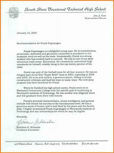 letter of recommendation for nhs student 8 national honor society letter of recommendation
