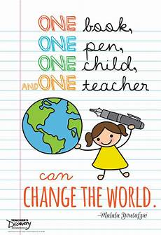 education poster malala on education mini poster s discovery