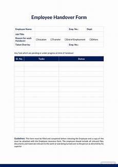 Handover Form 26 Handover Report Templates Pdf Doc Free Amp Premium