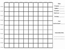 Football Square Template 19 Football Pool Templates Word Excel Pdf Free