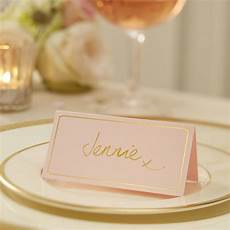 Pink Place Cards Pastel Pink And Gold Foiled Place Cards By Ginger Ray