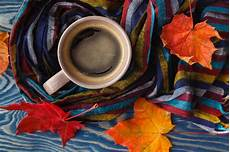 Fall Wallpaper Iphone Coffee by Cup Of Coffee Fall Leaves Photos Creative Market
