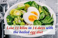 lose 11 kilos in 14 days with the boiled egg diet do you