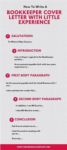 How To Cover Letter How To Write A Bookkeeper Cover Letter With Little