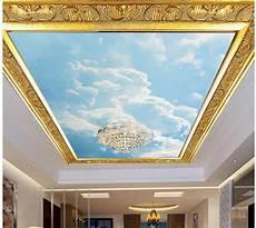 3d wall murals wallpaper blue sky and sky dome fresco 3d