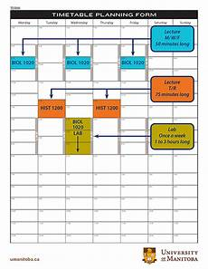 Make Your Own Class Schedule University Of Manitoba Student Affairs Registrar S