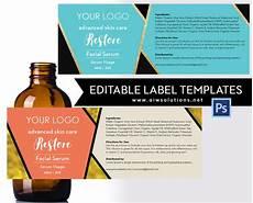 Template Label Serum Label Template Id18 Aiwsolutions