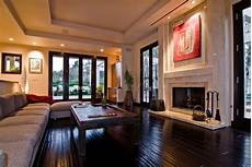 interior of homes big contemporary house with interior filled with