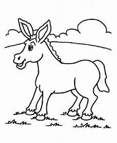 Malvorlage Esel Einfach Esel Ausmalbilder Malvorlagen 100 Kostenlos
