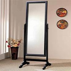 Vida Designs Nishano Cheval Mirror Free Standing Length by Accent Swivel Length Standing Cheval Mirror Black