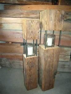 alte holzbalken dekoration altholz holz deko herbst natur gartendeko aus altem holz