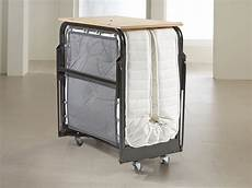 jaybe crown premier single folding bed with sprung mattress