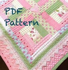 log cabin patchwork patterns log cabin baby quilt pattern modern baby quilt pattern