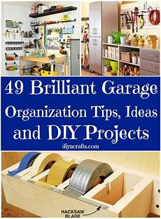 diy projects organizing 49 brilliant garage organization tips ideas and diy